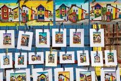 Pitture a La Boca, Buenos Aires, Argentina fotografie stock libere da diritti
