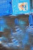 Pitture a olio dei modelli vibranti Immagine Stock