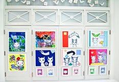 Pitture sulla parete Immagine Stock Libera da Diritti