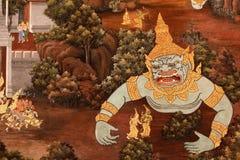 Pitture tailandesi fotografia stock libera da diritti