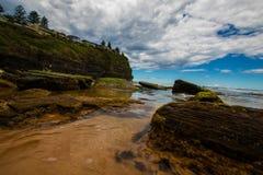 Pittwater, plażowy serii lato 2017 fotografia stock