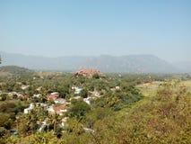 Piture деревни стоковая фотография