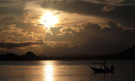 Pitux-Insel Stockbild