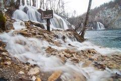 Pitvice nationalpark Royaltyfri Fotografi