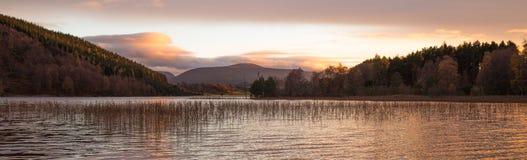 Pityoulish-Sonnenuntergang Stockbilder