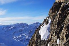 Pitztal glacier, Austria Royalty Free Stock Photo