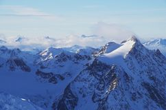 Pitztal glacier, Austria Royalty Free Stock Photos