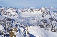 Pitztal glacier, Austria Royalty Free Stock Image