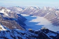 Pitztal glacier, Austria Stock Image