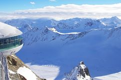 Pitztal glacier, Austria Stock Photo