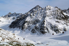 Pitztal, parte superior de Tirol, Áustria foto de stock