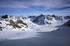 Pitztaler Gletscher, Otztaler Alpen, Tirol, Austria royalty free stock photo