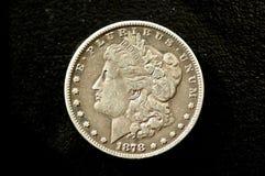 Piuma del dollaro 7 del Morgan Fotografia Stock Libera da Diritti
