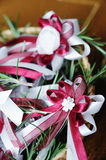 Piume decorative Wedding fotografie stock