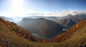 Piva湖 库存图片