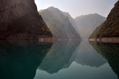 Piva lake Royalty Free Stock Photo