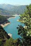 Piva lake Stock Photo