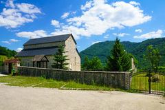The Piva Monastery Stock Photo