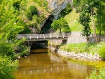 Pivka River swallow hole Royalty Free Stock Photography