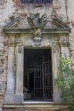 PIVON, TSJECHISCHE REPUBLIEK, 18 JULI, 2017: Ruïnes van Klooster Royalty-vrije Stock Foto's