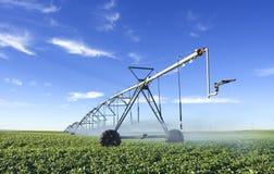 Pivot. Modern irrigation tool royalty free stock photography