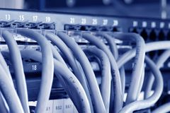 Pivot d'Ethernet photo stock