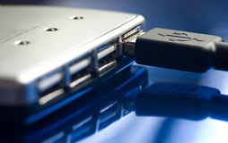 Pivot d'USB Image stock