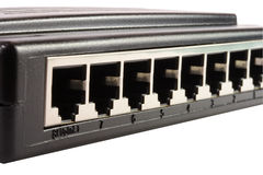 pivot de 8 ports images stock