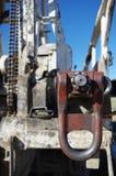 Pivot de garniture de forage fixé dans la garniture de forage Photos stock
