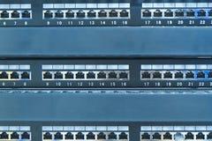 Pivot de réseau Photographie stock libre de droits