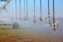 Pivot irrigation Royalty Free Stock Photo