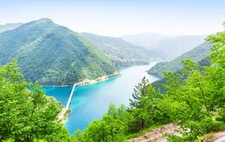 Pivsko Jezero, Montenegro Stock Photo