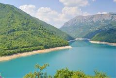 Pivsko sjö, Montenegro arkivfoton