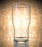 piwa pusty szkło Zdjęcie Stock