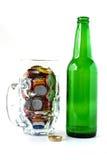 piwna butelka Zdjęcie Royalty Free