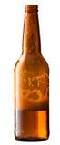 Piwna butelka zdjęcia stock
