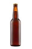 Piwna butelka Zdjęcia Royalty Free