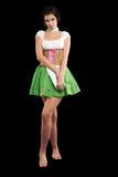 piwna niemiecka dziewczyna Obraz Royalty Free