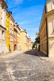 Piwna street in Warsaw, Stock Photography