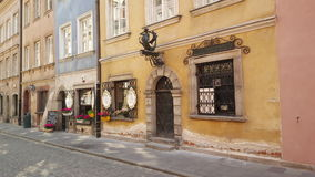 Piwna street in Warsaw Royalty Free Stock Photos