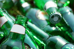 piwnej butelki stos Zdjęcia Stock
