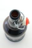 piwnej butelki trzepnięcia wierzchołek Zdjęcie Royalty Free