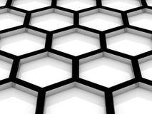 Piwni honeycombs Obraz Royalty Free