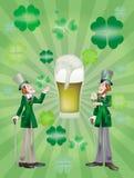 piwny dzień sądzi Patrick piwny Zdjęcia Royalty Free