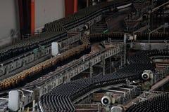 Piwny fabryczny wnętrze Zdjęcia Stock