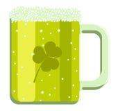 piwny kreskówki zieleni ilustraci wektor Fotografia Royalty Free