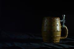 piwny kubek Zdjęcie Royalty Free