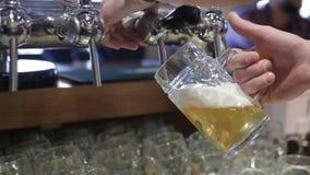 piwny podsadzkowy szkło zdjęcie wideo
