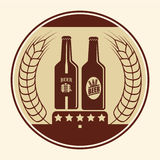Piwny pojęcie projekt Obrazy Stock