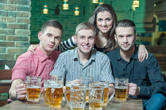 Piwny pub Fotografia Royalty Free